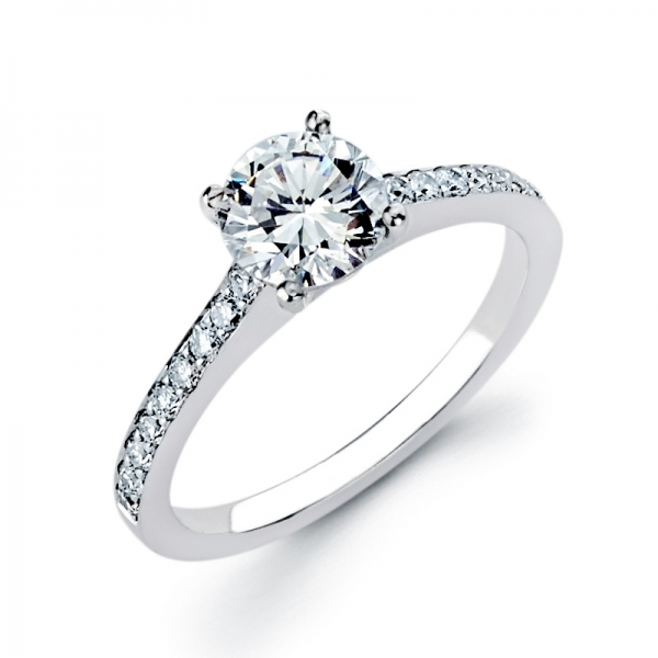 Solitaire from Sausalito Jewelers in Sausalito, California