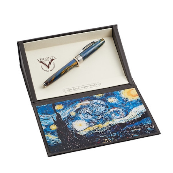 Visconti fountain, rollerball and ballpoint pens. - image #3