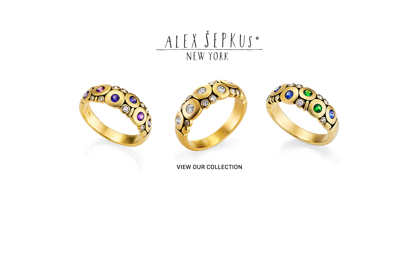 The Alex Sepkus Collection | Sausalito Jewelers -