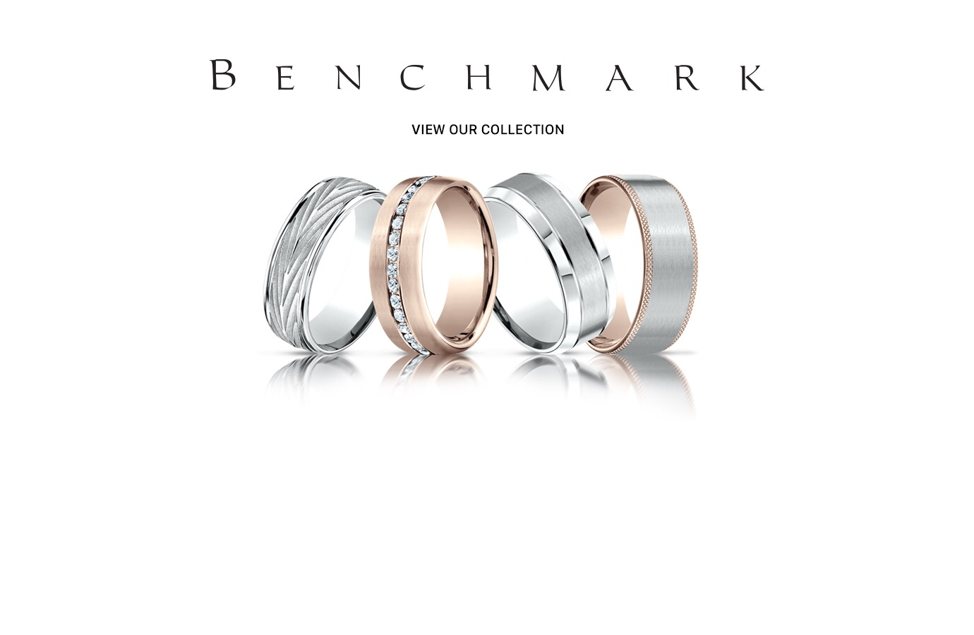 Benchmark Men's Wedding Bands -