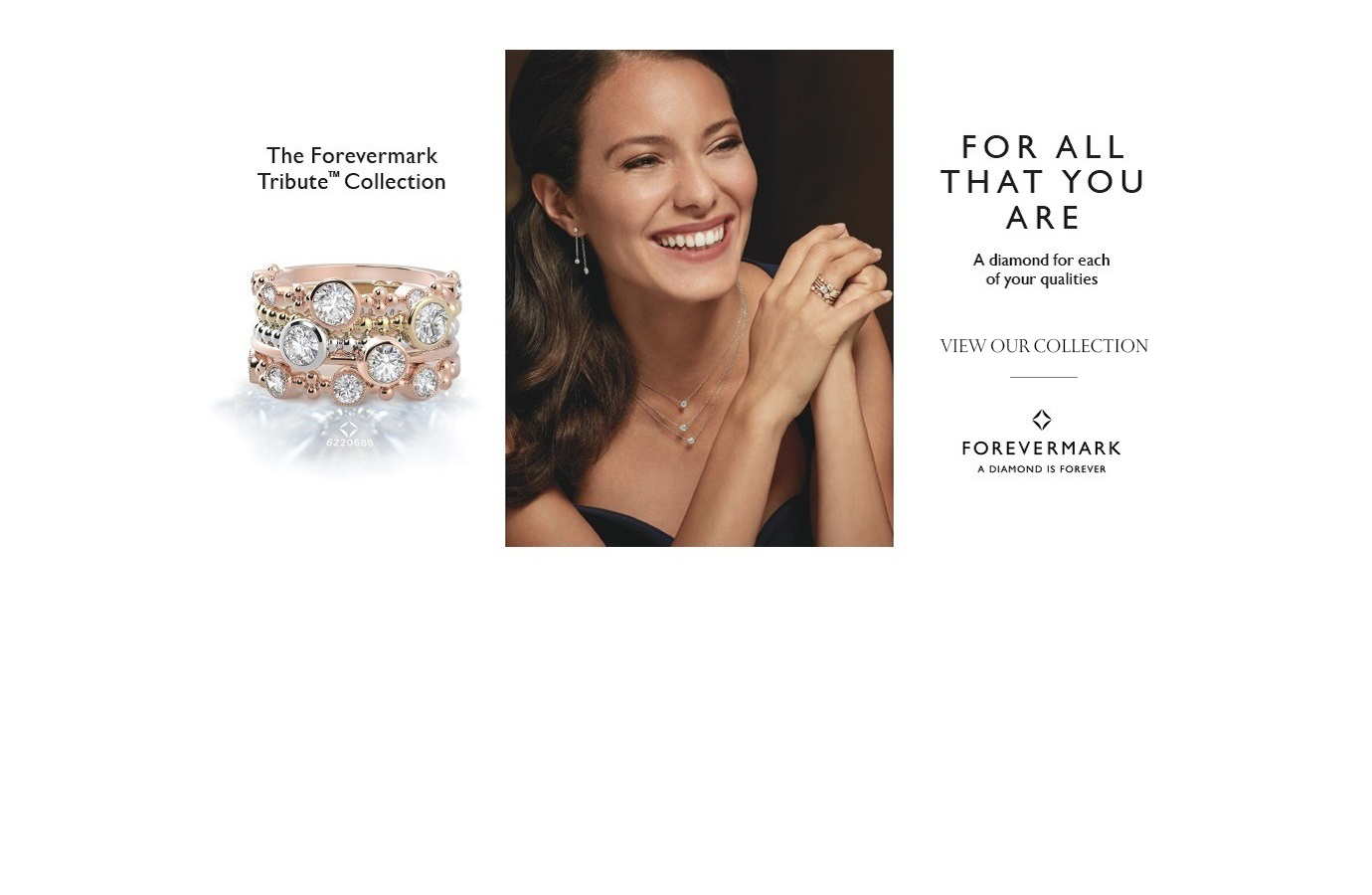 Forevermark Diamond Jewelry - Tribute Collection -
