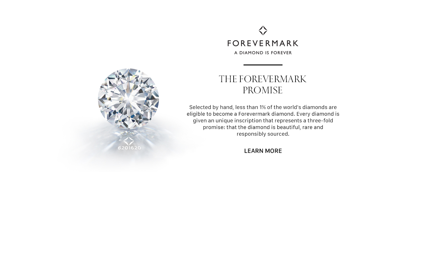 The Forevermark Promise -